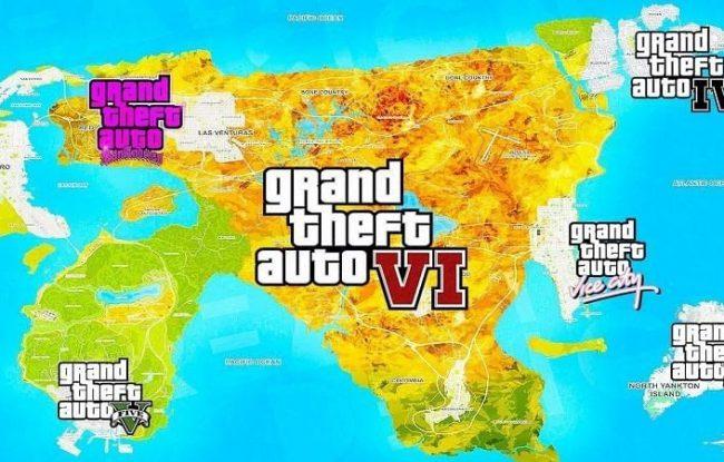 Rumor: Peta GTA 6 Baru Bocor